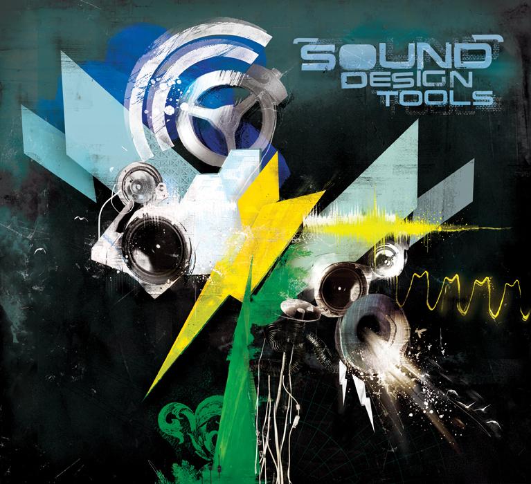 EMI Sounds Design Tools cd cover artwork by Danny Allison