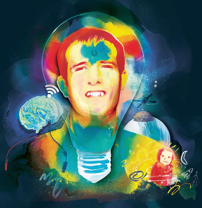 paint ideas lightbulb creativity kids thought mind space brain usb loading osx reboot bbc danny allison