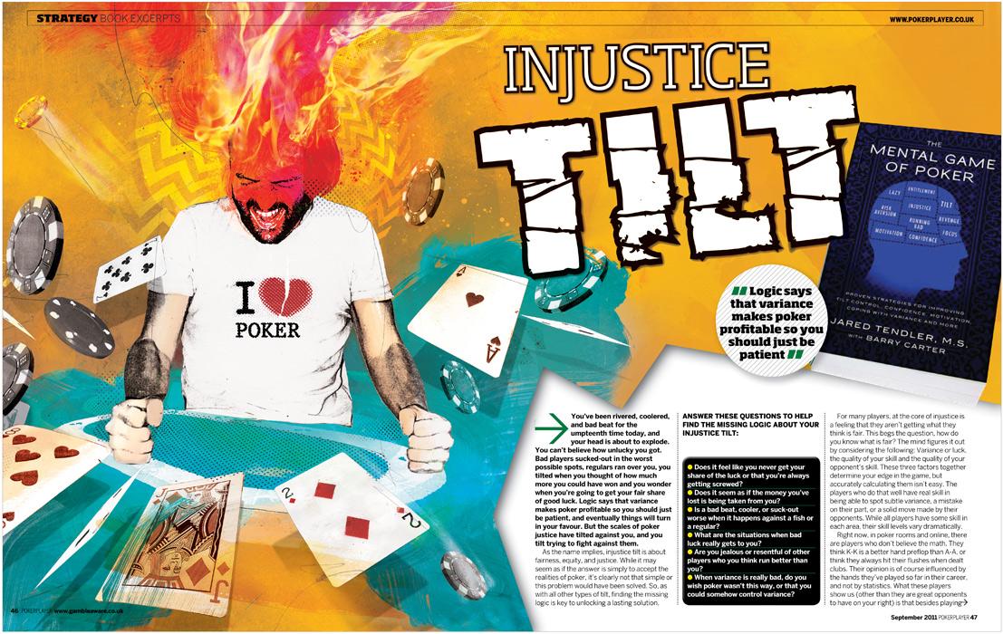 Poker Player illustration. Poker illustration by Danny Allison
