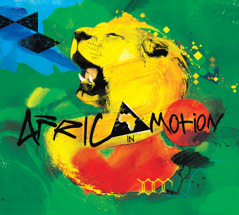 EMI Africa in Motion illustration by danny allison illustration