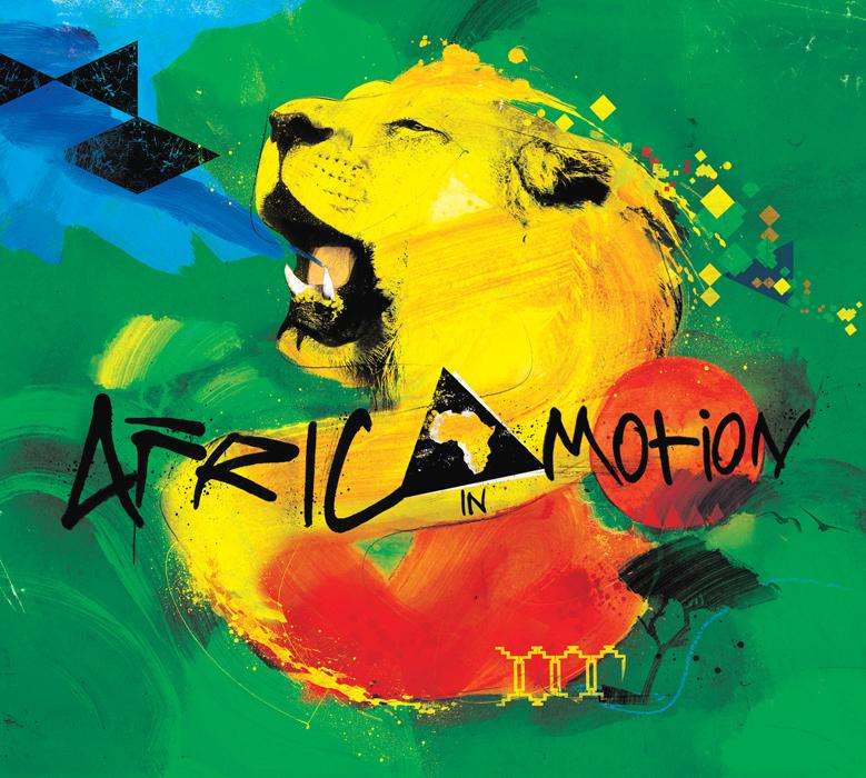 EMI Africa in Motion illustration by danny allison illustration