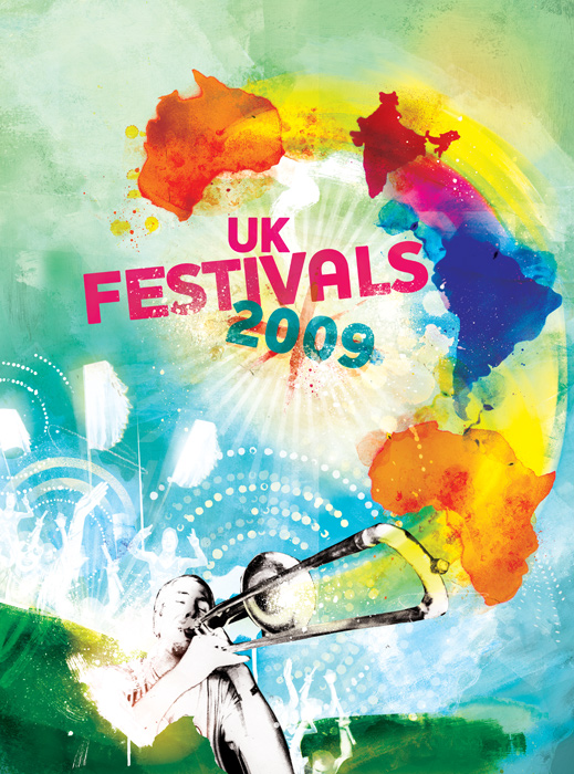 uk festivals special illustration by danny allison illustration